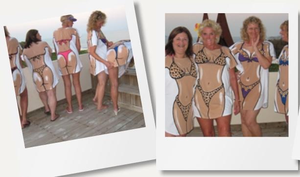 Example of Leopard Bikini being worn